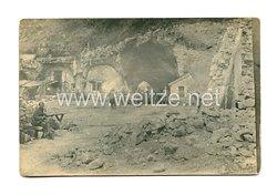 1. Weltkrieg Deutsches Heer Foto, Unterstand