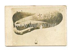 1. Weltkrieg Deutsches Heer Foto, Beobachtungsballon