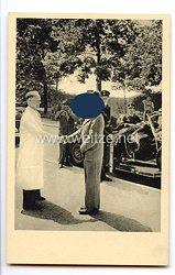 """III. Reich - Propaganda-Postkarte - """" Adolf Hitler - Besuch des Führers in der Orthopädischen Klinik München 4. Juli 1937 """""""