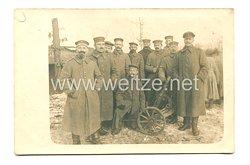 1. Weltkrieg Deutsches Heer Foto, Minenwerferkompanie