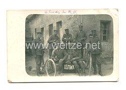 1. Weltkrieg Deutsches Heer Foto, Angehörige der 1.Garde Minenwerferkompanie