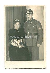 III. Reich Portraitfoto, Abteilungsführer des Postschutz