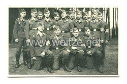 """Luftwaffe Gruppenfoto, Soldaten mit Armbinde """"L"""""""