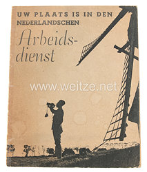 Niederländischer Arbeitsdienst (N.A.D.) Broschüre