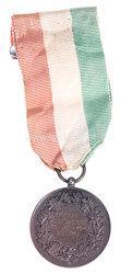 "Republik Italien 2. Weltkrieg: bronzene Verdienstmedaille ""Al Valore Civile"" mit Gravur"