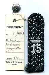 Bahnschutz Einzel Schulterstück für einen Stellvertreten Gruppenführer
