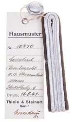 III. Reich Einzel Schulterstück eines Assistenten beim Generalinspekteur des Straßenbauwesen