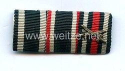 Bandspange eines Veteranen des 1. Weltkriegs und späteren Zivilisten an der Heimatfront