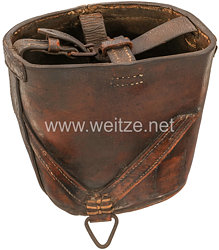 Deutsches Reich 187-1918 Erster Weltkrieg Kochgeschirrfutteral für den Sattel der Kavallerie