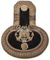 Kaiserliche Marine Einzel Epaulette für einentechnischen Beamten der Werften und des Torpedowesens