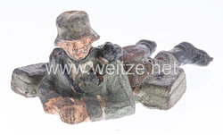 Lineol - Heer LMG Schütze mit Dreibein liegend