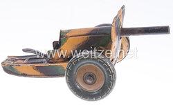 Blechspielzeug - Tipp & Co. Panzerabwehrgeschütz ( PAK ) mit Schutzschild