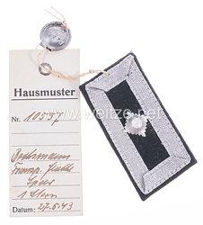 III. Reich Transportflotte Speer Einzel-Kragenabzeichen für einen Bootsmann