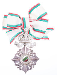 Bulgarien Zivil-Verdienstorden Modell (1944-1946) V. Klasse mit Krone