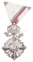 Bulgarien Zivil-Verdienstorden Modell (1944-1946) VI. Klasse mit Krone