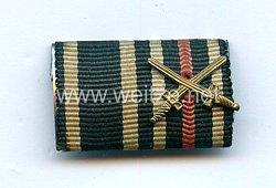 Bandspange eines Veteranen des 1. Weltkrieges