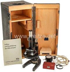 Wehrmacht Heer Mikroskop aus den Nachlass eines Stabsarzt