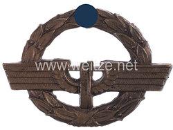 Deutsche Reichsbahn -Dienstnadel für Eisenbahnerinnen in Bronze