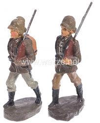 Elastolin - Heer 2 Soldaten im Marsch