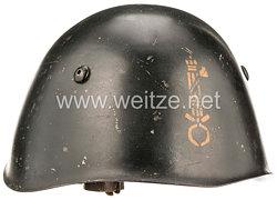 """Italien 2. Weltkrieg Stahlhelm M 33 der faschistischen Miliz """"MVSN"""""""