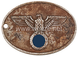 III. Reich Polizei Dienstmarke