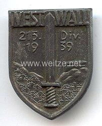 Wehrmacht Heer - Mützenabzeichen für Angehörige der 215. Division
