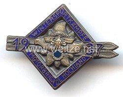 """NSKK - Teilnehmer-/Siegerabzeichen """" NSKK Motorbrigade Hochland - Wintersportkämpfe 1937 """""""