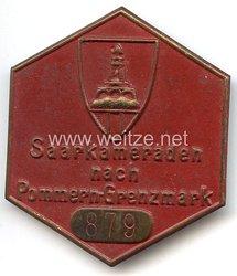 III. Reich - Kyffhäuserbund - tragbares Teilnehmerabzeichen