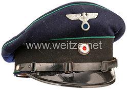 III. Reich Justizdienst Schirmmütze für Beamte im einfachen Dienst des Straff Gefangen-Lager II in Aschendorfermoor