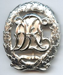 Reichssportabzeichen DRL in Silber - Ausführung 1957