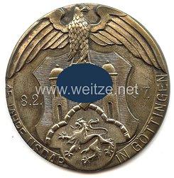 """III. Reich - nichttragbarer Ehrenpreis des Gaus Nr. 33 Göttingen - """" 15 Jahre NSDAP Göttingen 8.2.1937 """""""