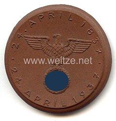 """III. Reich - Erinnerungsmedaille - """" 100 Jahre Leipzig-Dresdener Eisenbahn 24. April 1837 - 24. April 1937 """""""