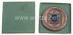 """III. Reich - nichttragbare Siegerplakette in Bronze - """" Post-Sportkämpfe Graz - Dem Sieger """""""