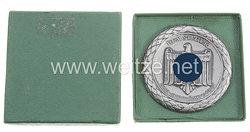 """III. Reich - nichttragbare Siegerplakette in Silber - """" Post-Sportkämpfe Graz - Dem Sieger """""""