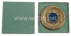 """III. Reich - nichttragbare Siegerplakette in Gold - """" Post-Sportkämpfe Graz - Dem Sieger """""""