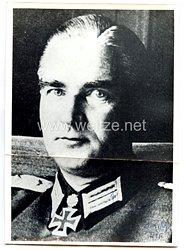 Heer - Nachkriegsunterschrift von RitterkreuzträgerOberstleutnant Walter Sievers, Kommandeur des Gren.-Rgt. 415