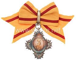 Japan, Orden der Heiligen Krone 8. Klasse für Frauen