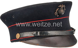 USA World War 1: Dress Blue Bell Visor Cap
