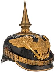 Preußen Pickelhaube für einen Reserveoffizier in einem Grenadier-Regiment