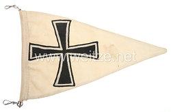 Kriegsmarine Kfz-Stander für einen Flottillenchef