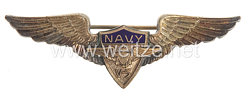 USA World War 2: US Navy V-5 Wings (Sweatheart - Souvenir Wings)