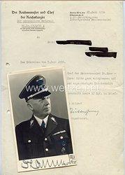 III. Reich - Originalunterschrift von Reichsminister und Chef der Reichskanzlei Dr.jur. Hans-Heinrich Lammers
