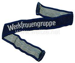 "NSV/DAF Ärmelband ""Werkfrauengruppe"""