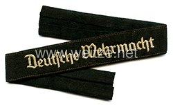 """Polizei Ärmelband """" Deutsche Wehrmacht"""" für Mannschaften"""