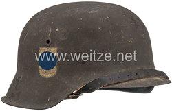 Volkssturm Stahlhelm M42 Freikorps