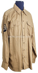 USA World War 2: US Army Khaki Service Shirt for a Technician 5th Grade