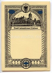 """III. Reich - Propaganda-Postkarte - """" Bund heimattreuer Posener """""""
