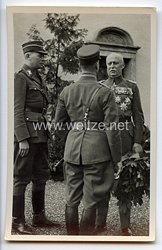 """III. Reich - Propaganda-Postkarte - """" Der 70. Geburttag des Feldherrn Erich Ludendorff """" ( 1935 )"""