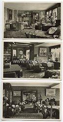 """III. Reich - 3 x Propaganda-Postkarte - """" Der 70. Geburttag des Feldherrn Erich Ludendorff """" ( 1935 )"""