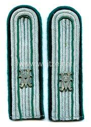 Wehrmacht Paar Schulterstücke für einen technischen Beamten im Range eines Leutnants